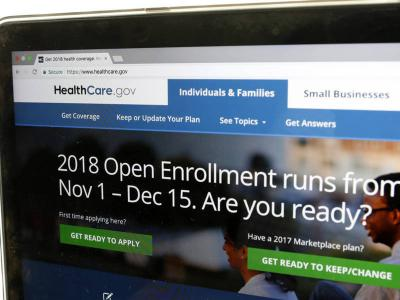 healthcare gov 2018 open enrollement
