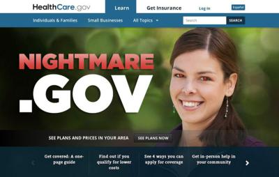 healthcare gov website nightmare