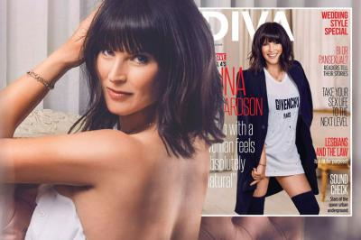 Anna Richardson diva cover