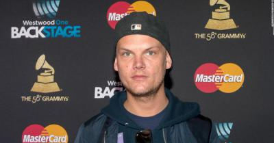 Avicii Grammy's hat sunglasses