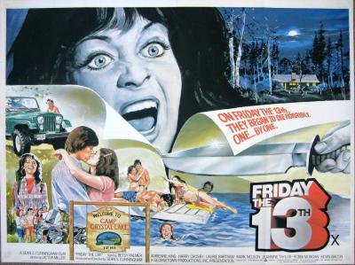 Friday the 13th, movie poster