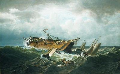 19th century shipwreck