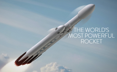 Falcon Heavy, the worlds most powerful rocket