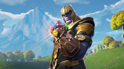 fortnite thanos, glove