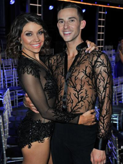 Jenna Johnson and Adam Rippon