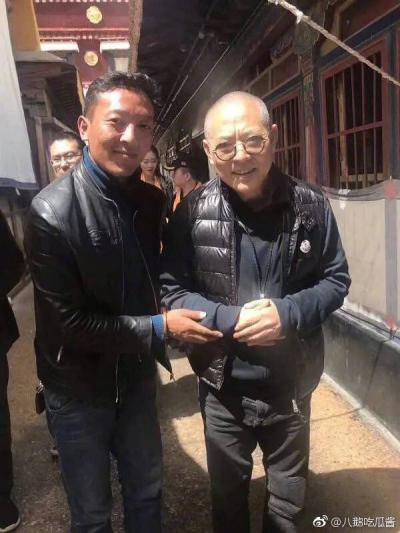 Jet Li, looking weak, May 19, 2018