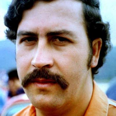 Pablo Escobar orange shirt
