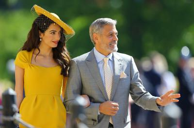 Prince William Hats George And Amal Clooney