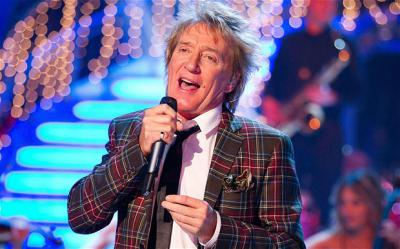 Rod Stewart, Strictly Come Dancing, checkered jacket