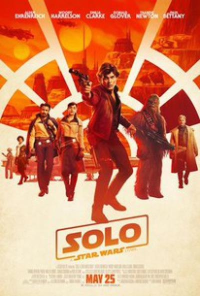Solo star wars teaser red