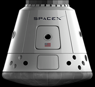 Space X Dragon spacecraft