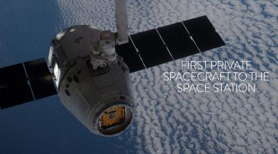 SPACEX DRAGON, FIRST PRIVATE SPACECRAFT TO THE SPACE STATION