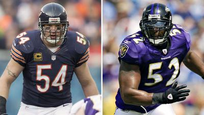 Brian Urlacher and Ray Lewis