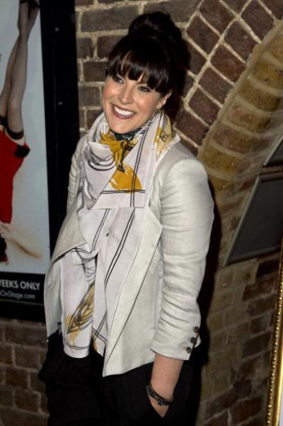 Anna Richardson white vest