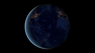 earth night lights