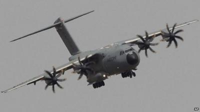 A400M in flight