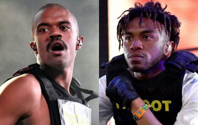 Brockhampton's Ameer Vann and Kevin Abstract Credit: Getty