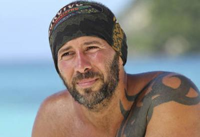 Survivor Tony Vlachos, bandana